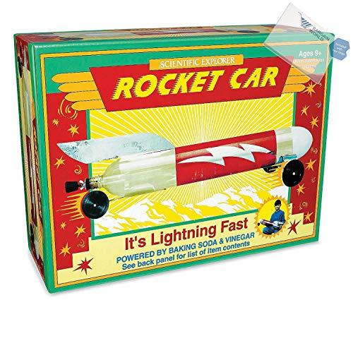 (Bargain World Baking Soda & Vinegar Rocket Car (With Sticky Notes))