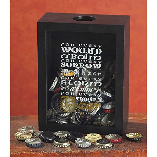 Jozie B 246331 Beer Blessing Bottlecap Box (Shadow Box Bottle Cap)