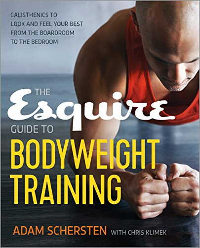 Esquire Guide Bodyweight Training Calisthenics ebook product image