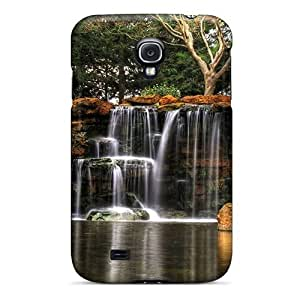 Mialisabblake Snap On Hard Case Cover Waterfall Through Rock Plates Hdr Protector Samsung Galaxy S6