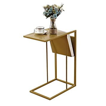 Amazon Com Zhirong Sofa Side End Table C Shaped Table Laptop Holder