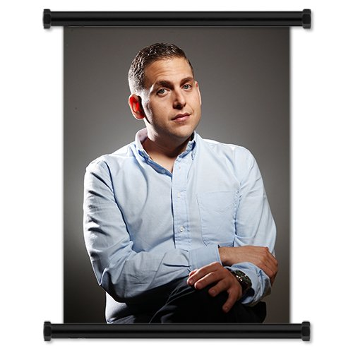 (Jonah Hill Sexy Actor Fabric Wall Scroll Poster (16