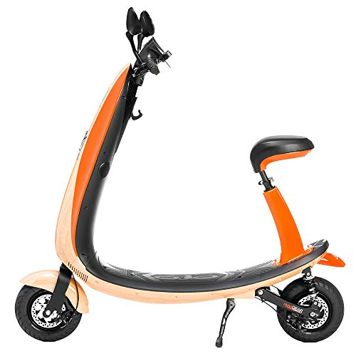 FORD OJO Commuter Scooter Vintage Woody (Orange)