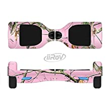 The Pink Real Camouflage Full-Body Wrap Skin Kit for the iiRov HoverBoards and other Scooter (HOVERBOARD NOT INCLUDED)