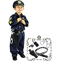 Joyin Toy Deluxe Police Officer Costume and Role Play Kit