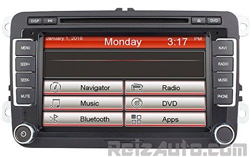 20092014 Volkswagen Passat Cc Golf Tiguan Indash Gps Navigation Rhamazonca: Vw Touch Screen Radio At Gmaili.net