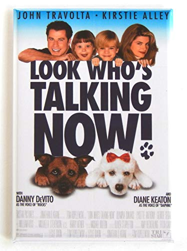 Look Who's Talking Now Movie Poster Fridge Magnet (2.5 x 3.5 inches)