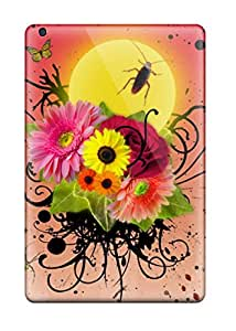 9196709J32466306 Case Cover Flowers And Insects/ Fashionable Case For Ipad Mini 2