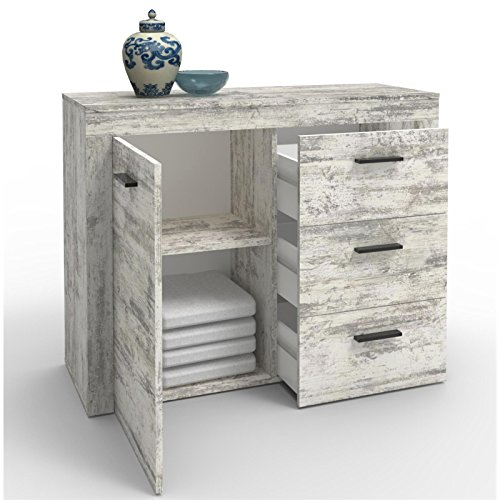 Caro Mobel Kommode Sideboard Highboard Ray Shabby Chic Vintage Look
