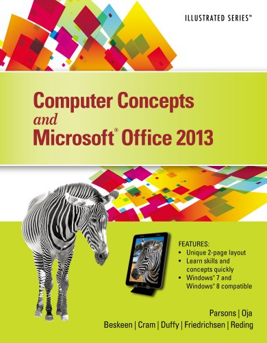 Computer Concepts and Microsoft Office 2013: Illustrated Pdf