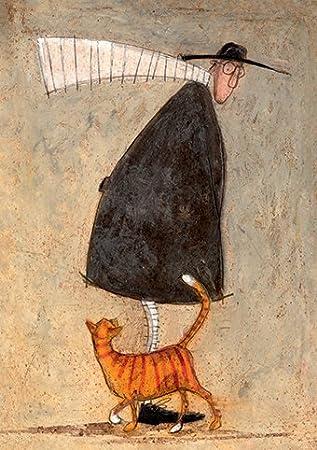 A cat called pumpkin pie sam toft open greeting card st985 quot a cat called pumpkin pie quot sam toft open greeting card m4hsunfo