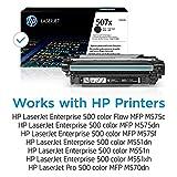 HP 507X   CE400X   Toner-Cartridge   Black   High