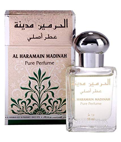 Noir Vintage Perfume - Haramain Madinah for Men and Women (Unisex) CPO - Concentrated Perfume Oil (Attar) 15 ML (0.51 oz)