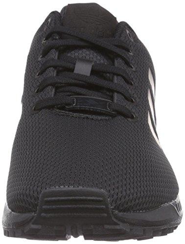 adidas Zx Flux, Zapatillas para Hombre Negro / Gris