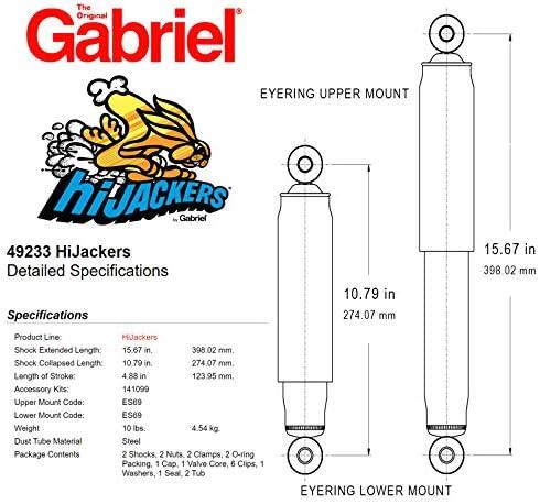 Amazon Com Gabriel 49233 Hijackers Air Shocks Automotive