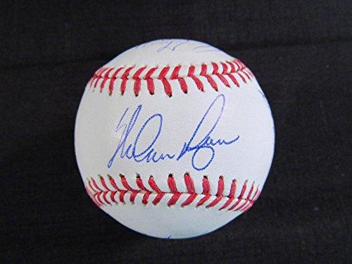 Ball Ryan Nolan (Ny Mets 1969 Team Signed Ball Nolan Ryan Grote Jones Swoboda Kranepool Weis +10 - Autographed Baseballs)