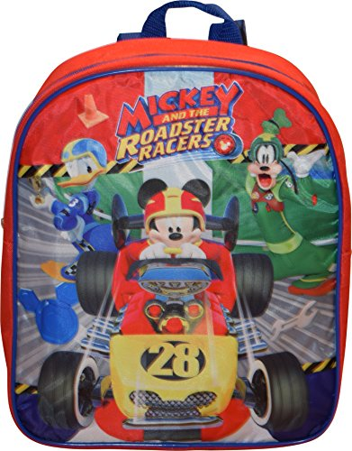 """Disney Mickey And The Roadster Racers 12"""" Small Backpack"""