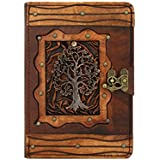 Tree of Life Pendant iPad Mini 4 Case Cover Flip Stand Vintage Real Genuine Leather Hardcover Wallet