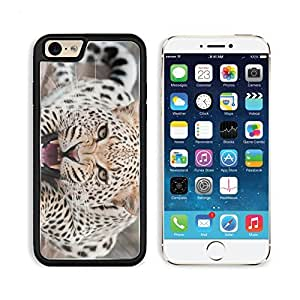 Leopard Predator Face Teeth Aggression Apple iPhone 6 TPU Snap Cover Premium Aluminium Design Back Plate Case Customized Made to Order Support Ready Liil iPhone_6 Professional Case Touch Accessories Graphic Covers Designed Model Sleeve HD Template Wallpap
