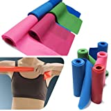 Gleader 1.5m Exercise Pilates Yoga Dyna Resistance Workout Physio Aerobics Stretch Bands