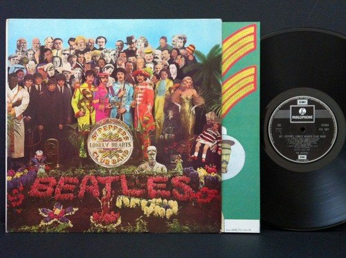 Sgt. Pepper's Lonely Hearts Club Band [Vinyl] Unknown (Sgt Peppers Lonely Hearts Club Band Vinyl)