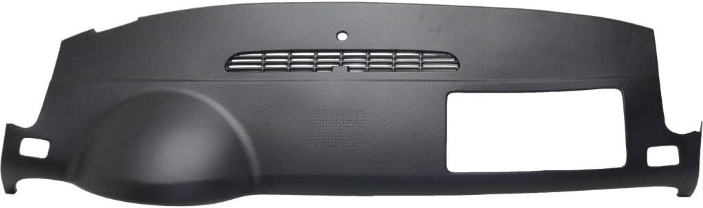 Dash Cover Defroster Grille For 2007-2013 GMC Sierra 1500 With Speaker Hole