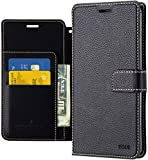 Galaxy S10 5G Wallet Case Qoosan Leather Flip Kickstand Phone Case with Card Holder