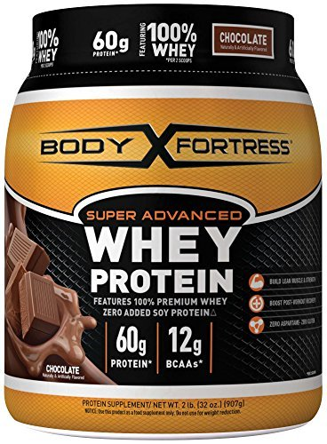 Body Fortress Super Advanced Chocolate Whey Protein Powder, 950ml by Body Fortress
