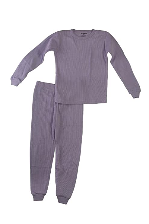 Amazon.com: Better Wear Girls Thermal Underwear Set: Clothing