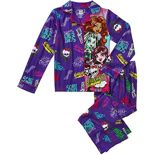 Monster High Girls Ghoulicious Pajama Pant Set (M