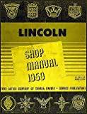 1959 Lincoln Repair Shop Manual Original 59 Capri, Premier, Mark IV