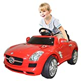 Goplus Kids Ride on Car Drivable Mercedes Benz Electric/ Battery Power with MP3 Perfect for Childs