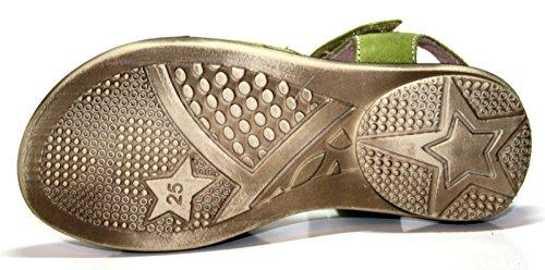 Cherie enfant chaussures sandales pour fille vert 600–vert-taille 25 (sans emballage)