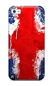 Anti-scratch And Shatterproof Flag Phone Case For Iphone 6 (4.5)/ High Quality Tpu Case