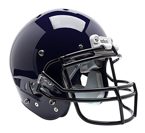 Schutt Sports Varsity AiR XP Pro VTD II Football Helmet(Faceguard Not Included), Navy, Large (Football Varsity Helmet)