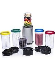 Tristar BL-4445 Blender – Complete set 17-delig – Voor droge en natte ingrediënten, Zilver