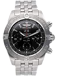 Chronomat Mechanical (Automatic) Black Dial Mens Watch A4436010/BB71 (Certified Pre-Owned)