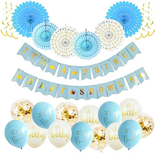 It's A Prince Baby Shower Decorations for Boy