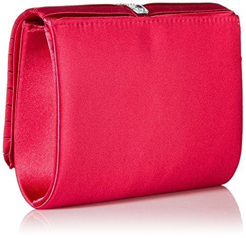 Jessica Satin Raspberry Katie womens Clutch McClintock rSqpPr