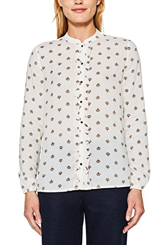 110 Esprit Femme Off White Multicolore Blouse Xn1fxn4q8