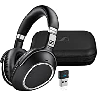 Sennheiser MB 660 UC – Dual-Ear Headset with Noise-Canceling Microphone – Includes USB Bluetooth Dongle