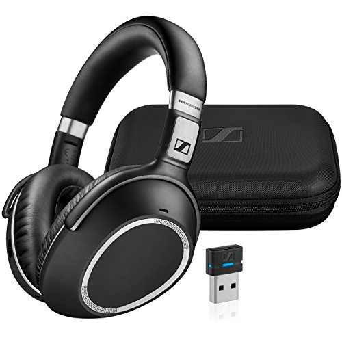 Sennheiser MB 660 UC (507092) – Dual-Connectivity, Wireless, Bluetooth, Foldable, Adaptive ANC Over-Ear Headset | For Desk/Mobile Phone & Softphone/PC Connection | UC Platform Compatibility (Black)