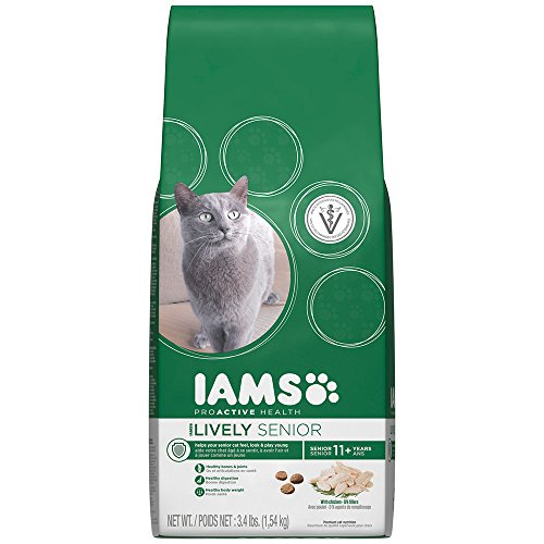 IAMS PROACTIVE HEALTH Lively Senior  Chicken Recipe Dry Cat