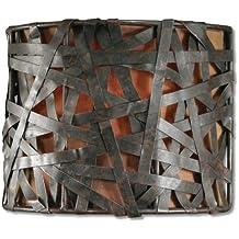 Uttermost 22463 Alita 1 -Light Wall Sconce, Rust Black Finish