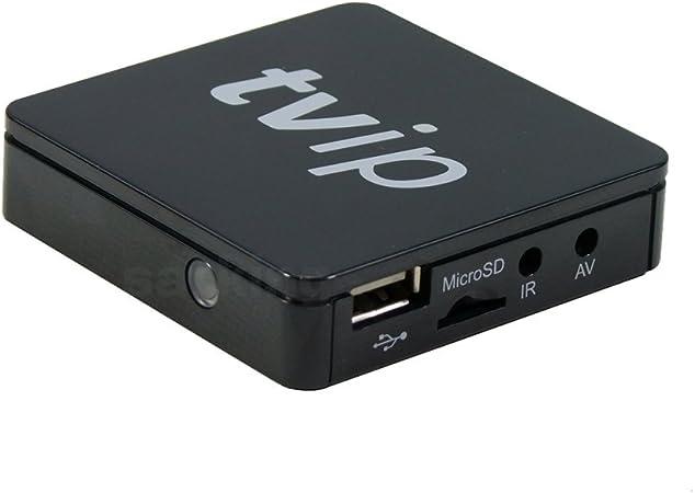 Tvip - S-Box v.412 iptv HD Multimedia Stalker Streamer WLAN ...