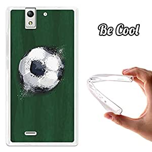 BeCool® - Funda Gel Flexible Hisense U988 Balón de Fútbol Efecto Líquido Carcasa Case Silicona TPU Suave