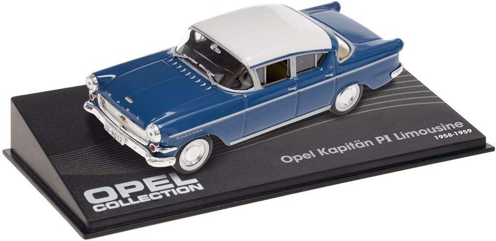Kapitan P1 Limousine ref: Opel-1-3-4 Diplomat V8 Lot de 3 Voitures 1//43 Opel Collection : Commodore