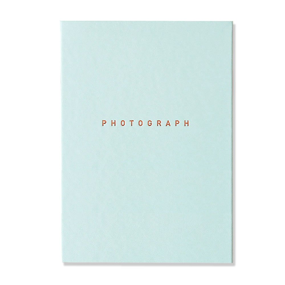 """Soft Leather Self Adhesive Photo Album Book, Scrapbooking Scrapbook Magnetic Album , Hardcover, 40 Pages Holds 3X5, 4X6, 5X7, 6X8 photos, 8.35""""X11.7"""" (Sky Blue) by b_odd supplies"""