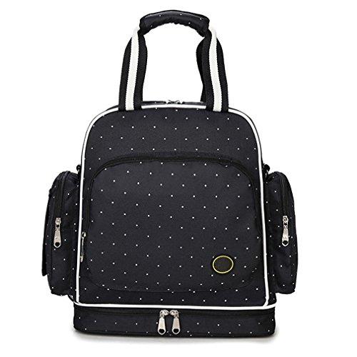 abonnyc-diaper-bag-baby-travel-diaper-backpack-bag-shoulder-bag-fit-stroller-black-dot