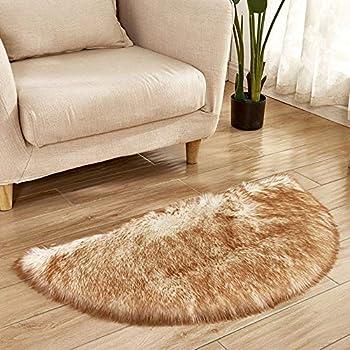 Amazon.com: Deesee (TM) - Alfombra de piel de oveja ...